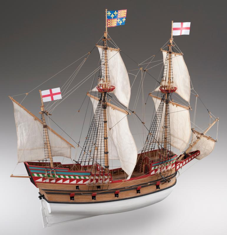 Golden Hind wooden ship model kit - agesofsail